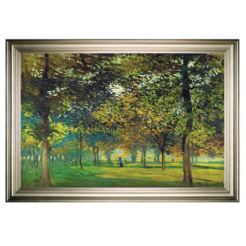 The Alley of Champ de Foire -Silver Frame