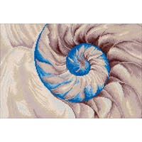 "Diamond Dotz Diamond Embroidery Facet Art Kit 30""X21.5""-Nautilus"