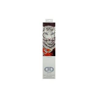 """Diamond Dotz Diamond Embroidery Facet Art Kit 17.25""""X21.75""""-White Tiger In Autumn"""