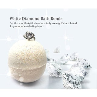 Hidden Treasure Bath Bomb (WHITE DIAMOND)