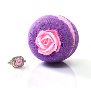 Hidden Treasure Bath Bomb (FLOWER BOMB)