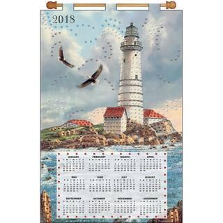 Design Works 2018 Calendar Felt Applique Kit-Soaring Eagle https://ak1.ostkcdn.com/images/products/15390114/P21848609.jpg?impolicy=medium