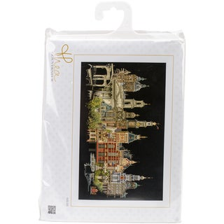 "Amsterdam On Aida Counted Cross Stitch Kit-31""X19.5"" 18 Count"
