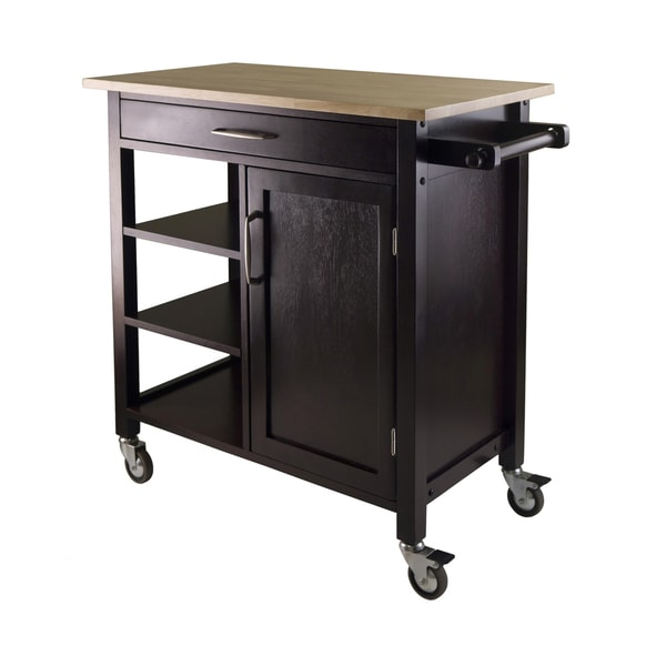Mali Wood Kitchen Cart