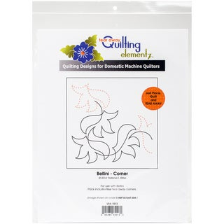 Quilting Creations Printed Tear Away Quilting Paper 4/Pkg-Bellini-Corner