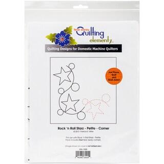 Quilting Creations Printed Tear Away Quilting Paper 4/Pkg-Rock 'n Roll Starz - Petite-Corner