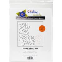 Quilting Creations Printed Tear Away Quilting Paper 4/Pkg-Scribbles - Petite-Corner