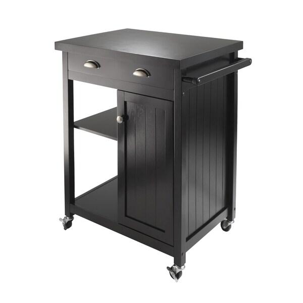 Timber Wainscot Panel Kitchen Cart