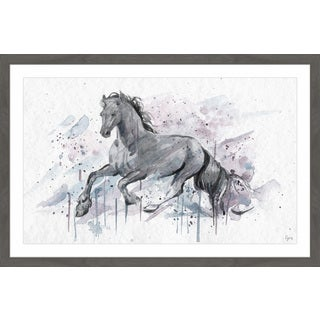 'Graceful Horse' Framed Painting Print