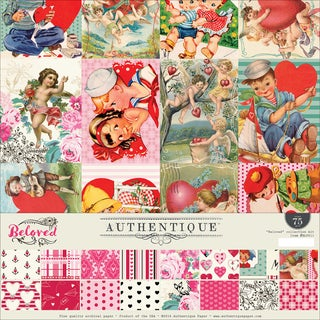 """Authentique Collection Kit 12""""X12""""-Beloved"""