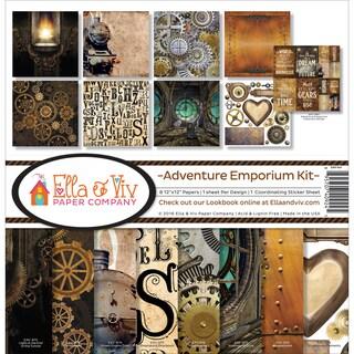 """Ella & Viv Collection Kit 12""""X12""""-Adventure Emporium"""