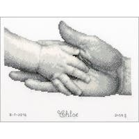 """Hands On Aida Counted Cross Stitch Kit-8.5""""X7"""" 14 Count"""