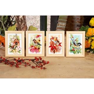 Shop 4 Seasons Miniatures On Aida Counted Cross Stitch Kit