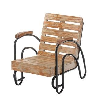 Children's Wood Slat Patio Lounge Chair (Bali)
