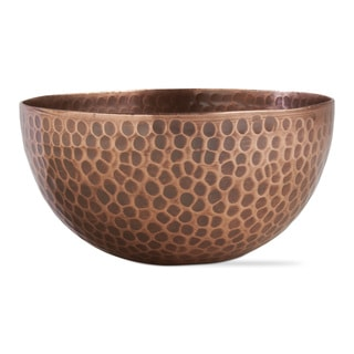 TAG Hammered Copper Bowl