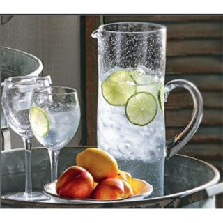 TAG Bubble Glass Tall Pitcher