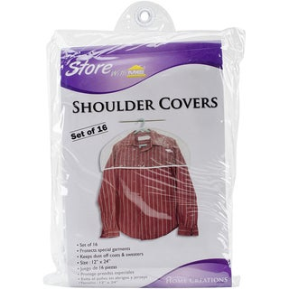 "Shoulder Covers 16pk 12""X24""-Clear"