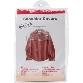 Shoulder Covers 16pk-Clear