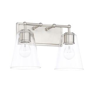 Capital Lighting Signature Collection 2-light Brushed Nickel Bath/Vanity Light