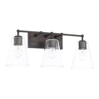 Capital Lighting Signature Collection 3-light Olde Bronze Bath/Vanity Light
