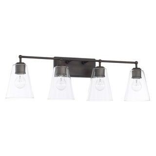 Capital Lighting Signature Collection 4-light Olde Bronze Bath/Vanity Light