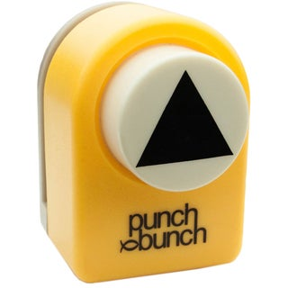 "Punch Bunch Medium Punch Approx. 1""-Triangle"