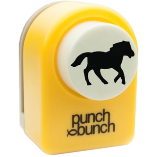 "Punch Bunch Medium Punch Approx. 1""-Horse"