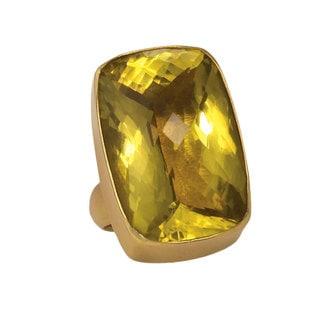 Handmade Alchemia Citrine Ring (Mexico)