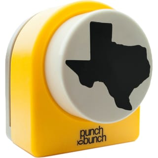 """Punch Bunch Super Giant Punch Approx. 2.375"""" -Texas"""