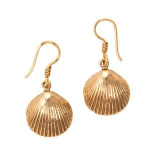 Handmade Alchemia Ark Shell Earrings ( Mexico)