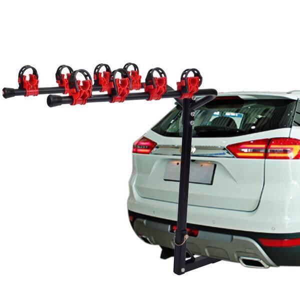4-Bike Car SUV Truck Racks Carrier Rack Hitch Mount Swing Down Bicycle Receiver