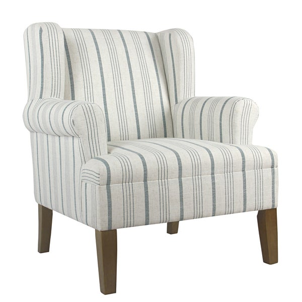 Shop HomePop Emerson Rolled Arm Accent Chair
