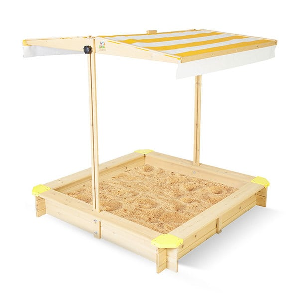 Outward Play Joey Sandbox With Adjustable Canopy Cover