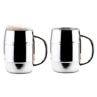 Link to Jumbo KeepKool® 33.8 Oz. Double Walled Stainless Steel Mugs, Set of 2 Similar Items in Glasses & Barware