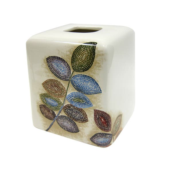 Croscill Mosaic Leaves Bath Collection Overstock 15390767