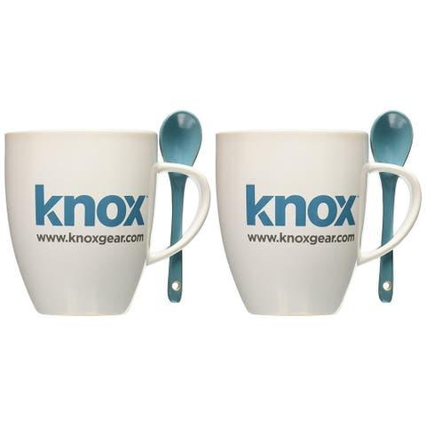Knox 16oz. Mug with Spoon (2 Pack)