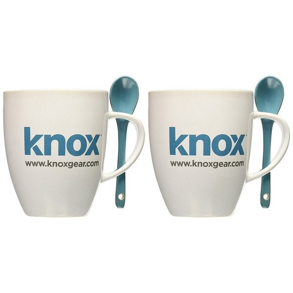 Knox 16oz. Mug with Spoon (2 Pack). Opens flyout.