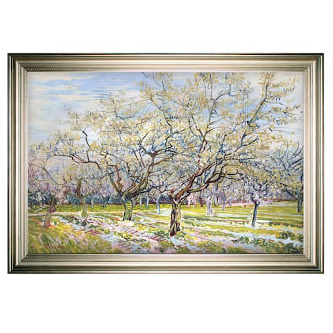 Vincent-van-gogh -by Van Gogh -Silver Frame