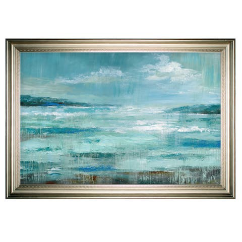 Isle Inlet -Silver Frame