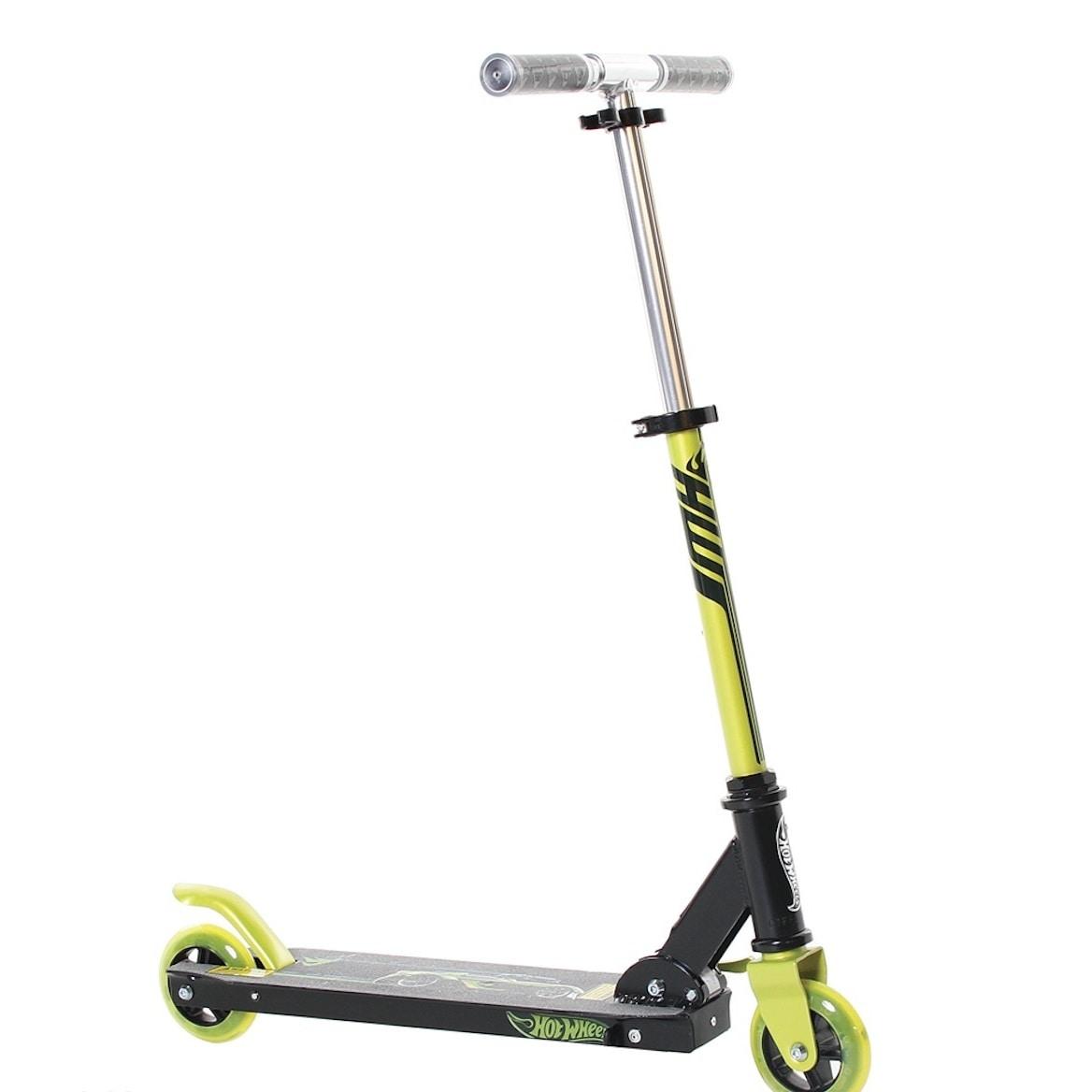 Hot Wheels Folding Scooter (Black)