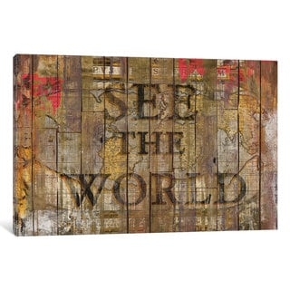 iCanvas See The World by Diego Tirigall Canvas Print