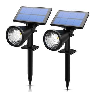 solar spotlight 2in1 solar powered outdoor