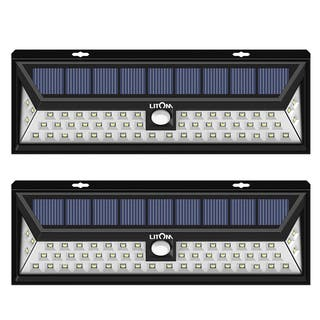 54 LED Solar Lights Outdoor Waterproof Solar Power Lights with 120 Wide Angle Motion Sensor (2 pack)|https://ak1.ostkcdn.com/images/products/15391090/P21849484.jpg?impolicy=medium