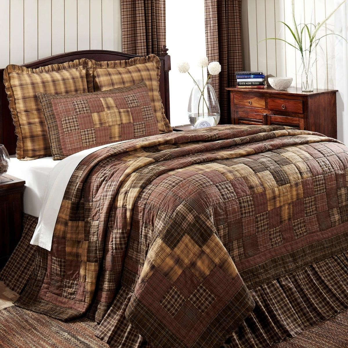 VHC Brands Prescott Cotton Quilt (Shams Not Included) (Qu...