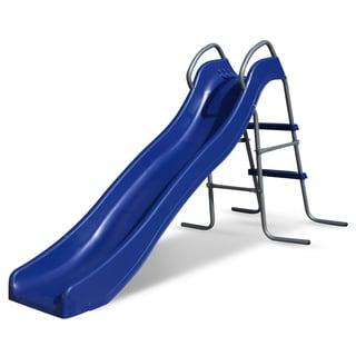 Outward Play Kids Blue Resin Backyard Wave Slide