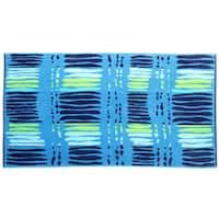 Panama Jack Beach Cascade 40x70 Cotton Jacquard Beach Towel