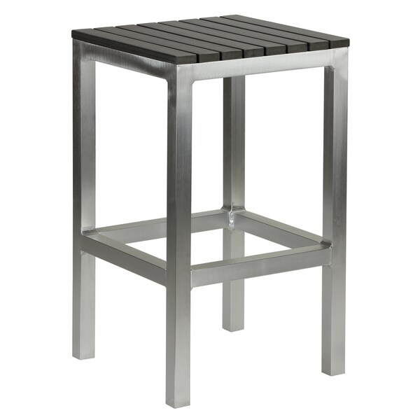 Shop Havenside Home Knotts Aluminum Slate Grey Poly Wood