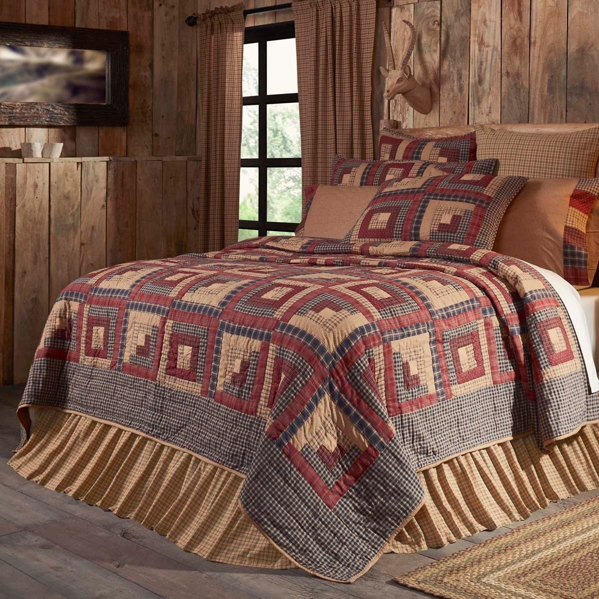 VHC Brands Millsboro Cotton Quilt (Shams Not Included) (K...