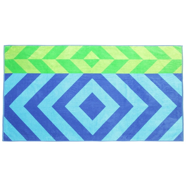 Panama Jack Beach Prism 40x70 Cotton Jacquard Beach Towel