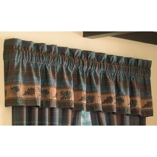 Croscill Caribou Tailored Valance - 88 x 15